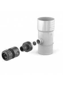 Sběrač dešťové vody PVC 63mm