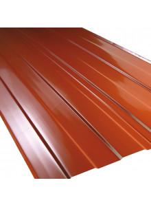 Podélně lisované úžlabí pro montáž přímo na střeše - hliník / 2bm.