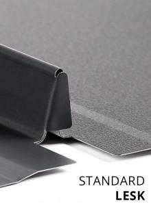 Drážkovaná krytina BRATEX SNAP LOCK Standard Lesk