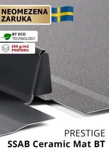 Drážkovaná krytina Bratex SNAP LOCK tl. 0,6 mm Ceramic...