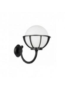 Venkovní nástěnná lampa Koule s...